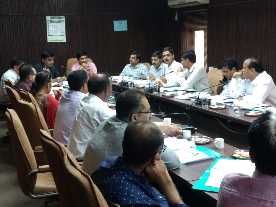 District Manager Meeting-H.O.Ahd. at 15-10-2019